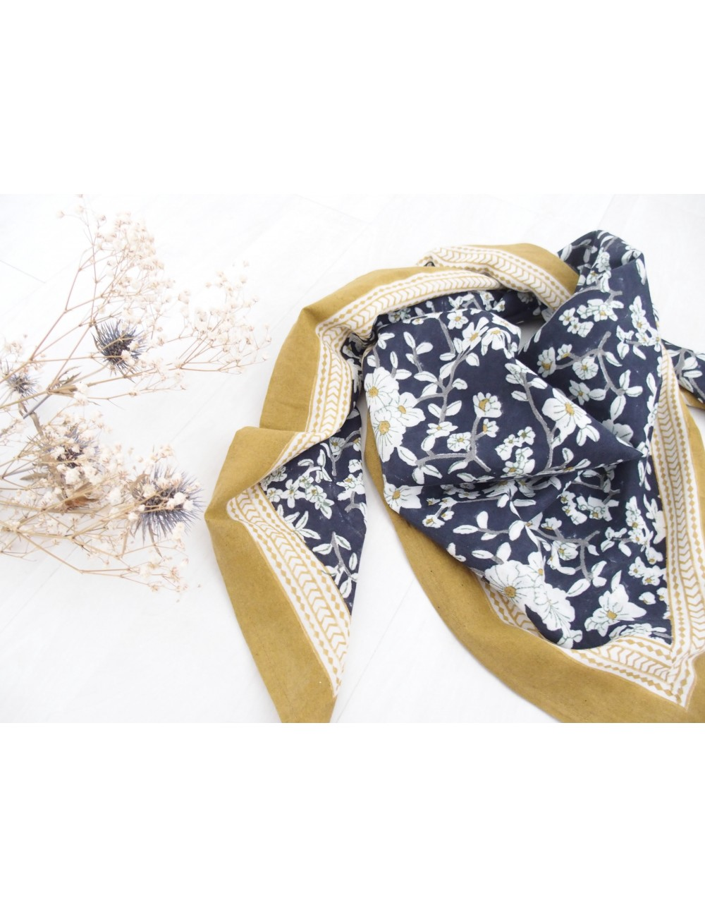 Foulard - Nidhi Bleuet