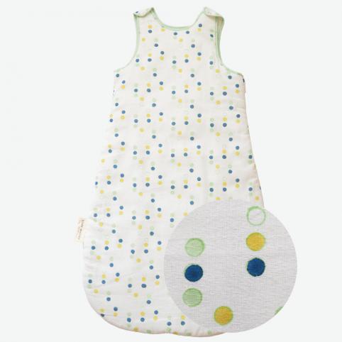 Turbulette toute douce pour bébé Bindi Atelier - imprimée à la main