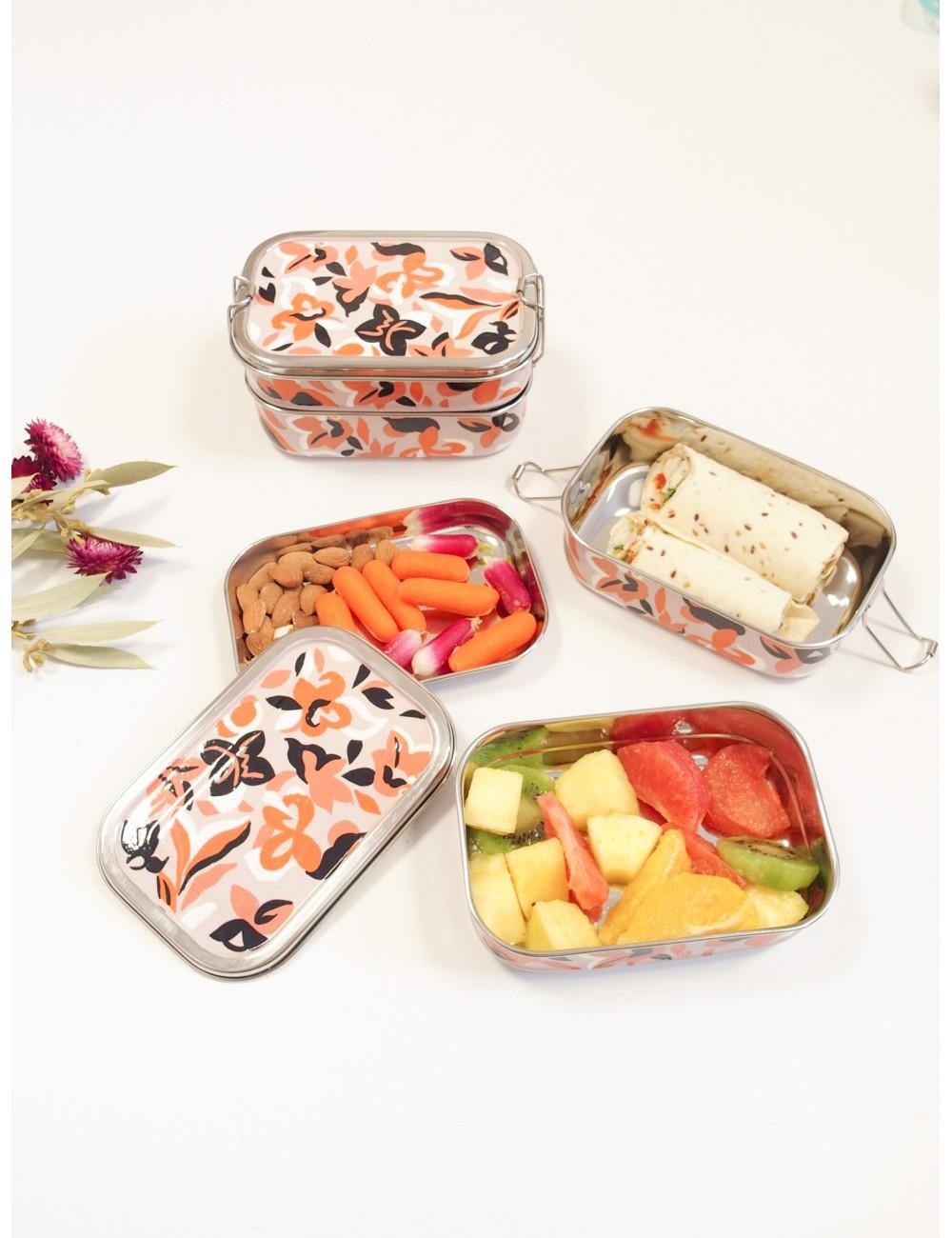 Lunch box Zinnia Minuit