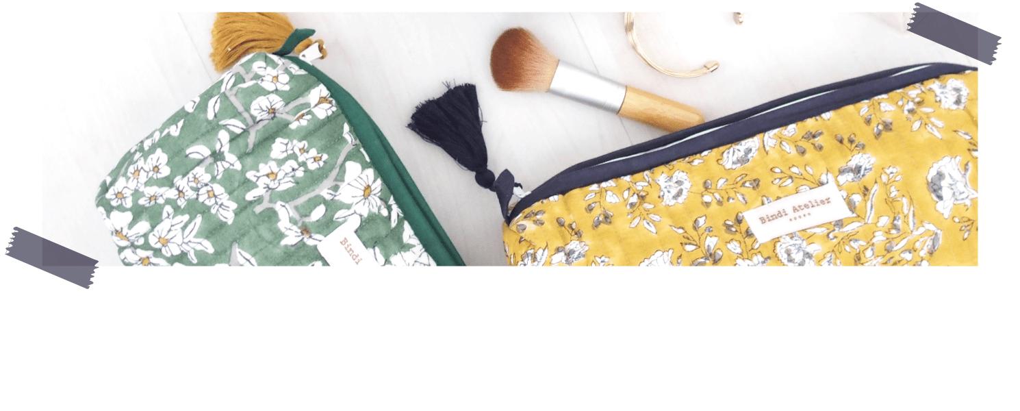 Trousse maquillage - trousse de toilette - sacs à langer